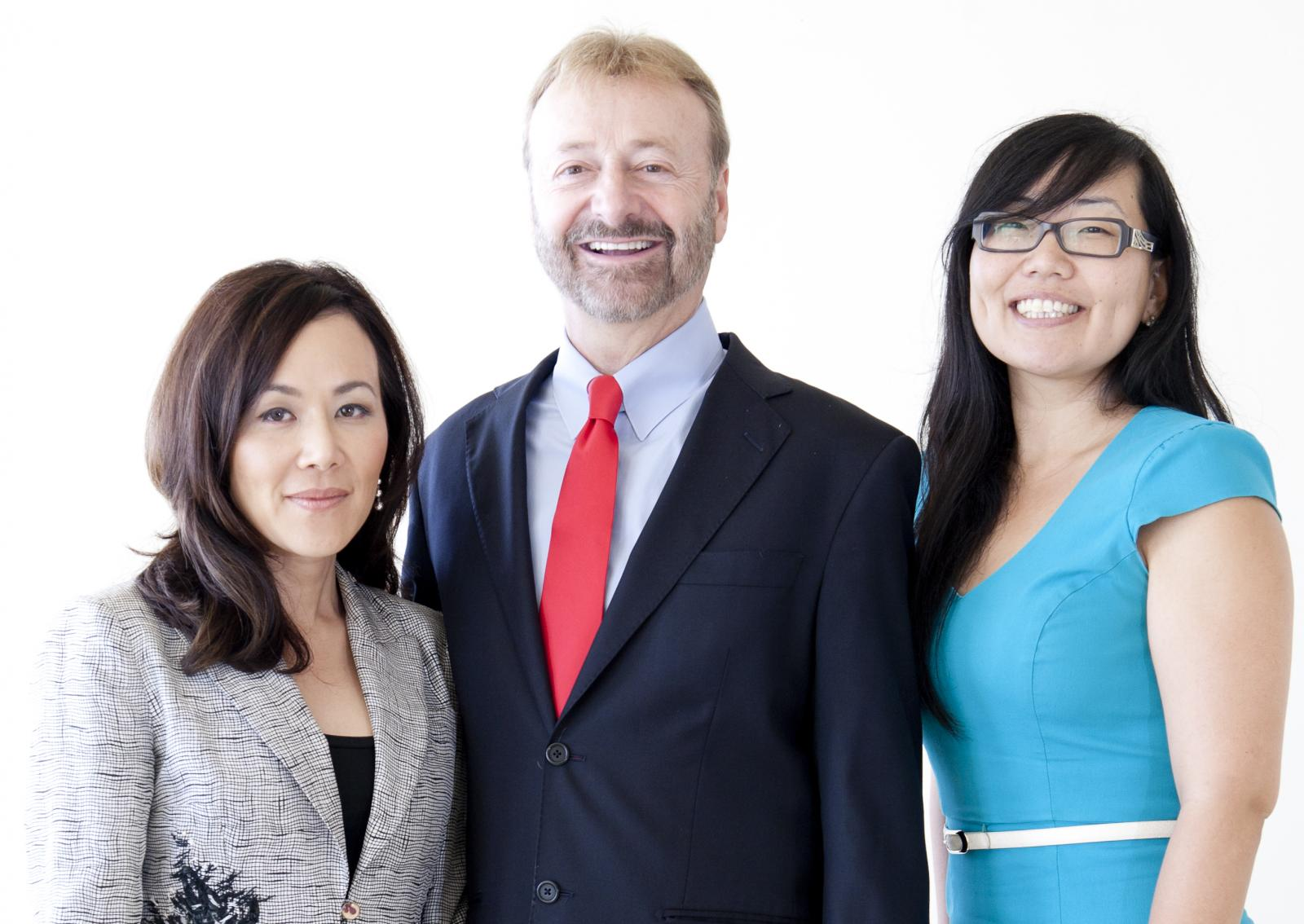 Iredale Law team - Julia, Eugene, Grace