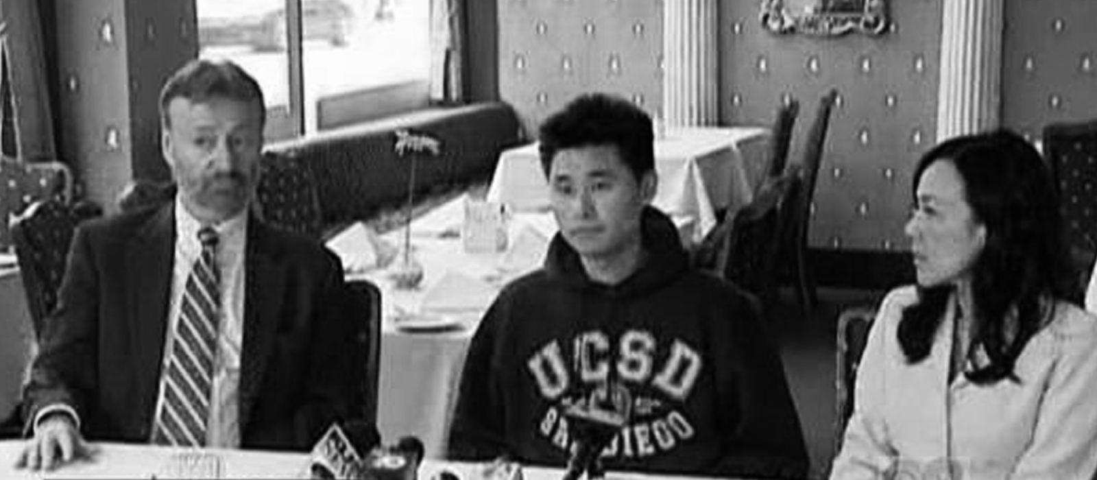 Iredale Law press conference - Eugene Iredale, Daniel Chong, Julia Yoo