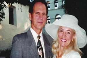 Kevin Brown and his wife