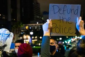 Defund the policec protest